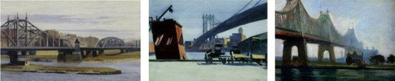 3 Ed Hopper bridges