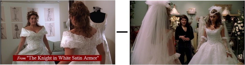 2  wedding dresses - Sopranos Autopsy