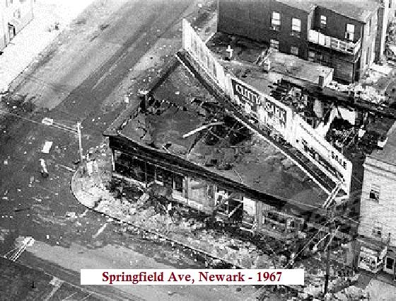 Springfield Ave 1967 riots Sopranos Autopsy