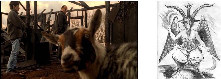 goat baphomet Sopranos Autopsy