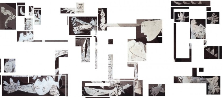 Guernica original - Deconstructed