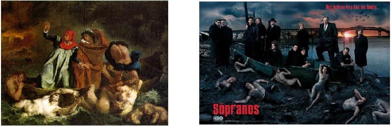 Leibowitz barque of Dante Sopranos Autopsy