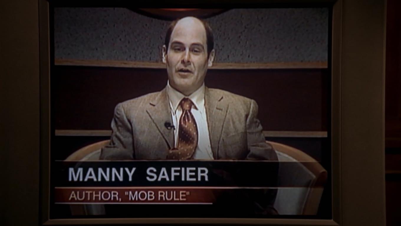 Manny Safier + Matthew Weiner