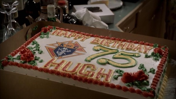 Hugh DeAngelis birthday cake