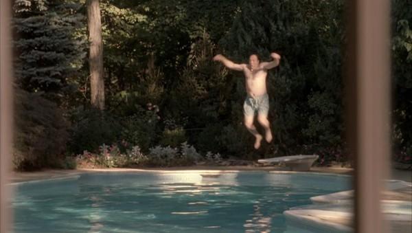 Tony Sopranos swimming pool