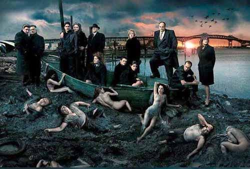 Liebovitz Sopranos poster