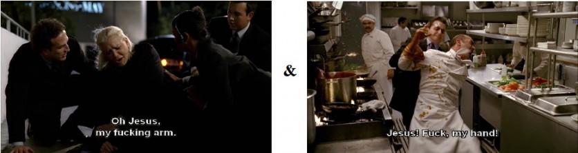 Lauren Bacall, my fuckin arm - Sopranos Autopsy