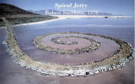 spiral jetty, smithson
